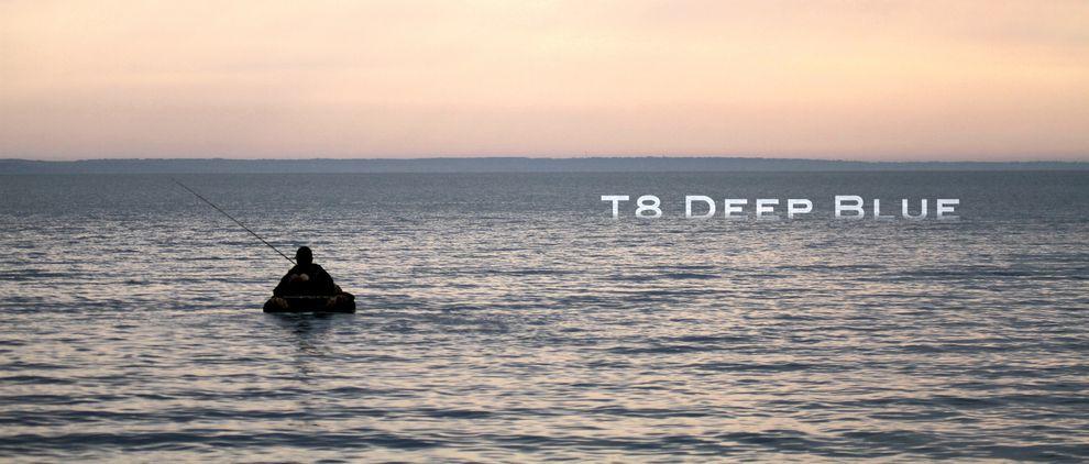 T8 Deep Blue - Wide open